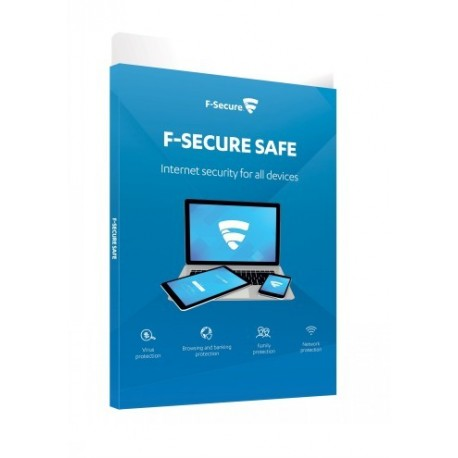 F-secure Esd Safe 2year 25device Full